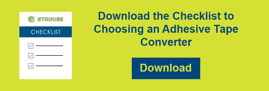 How to Choose an Adhesive Tape Converter