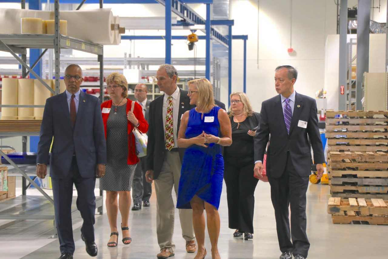 Strouse Manufacturing Tour