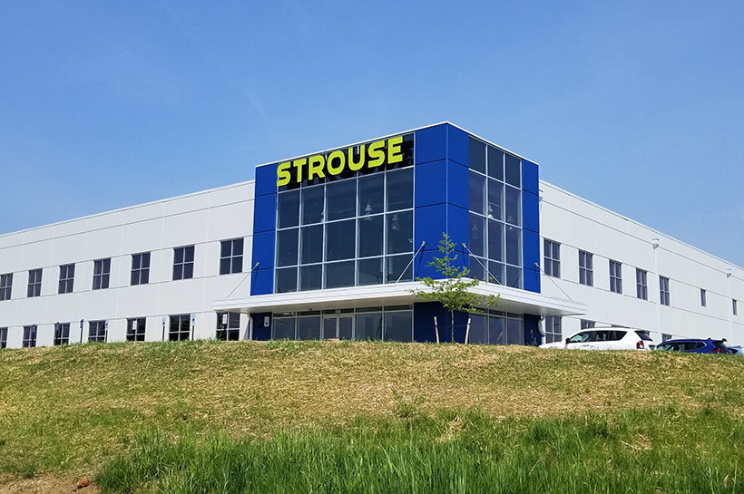 Strouse New Building